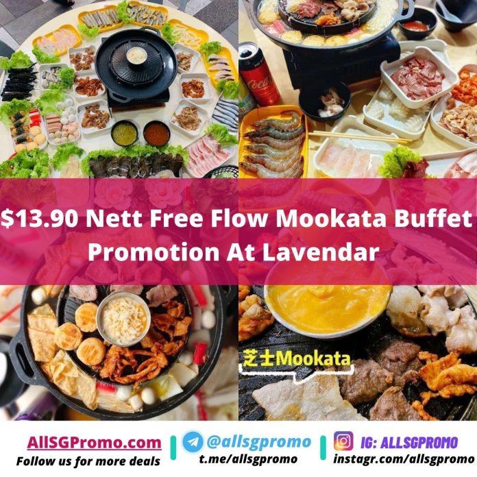 13.90 Nett Free Flow Mookata Buffet Promotion At Lavendar