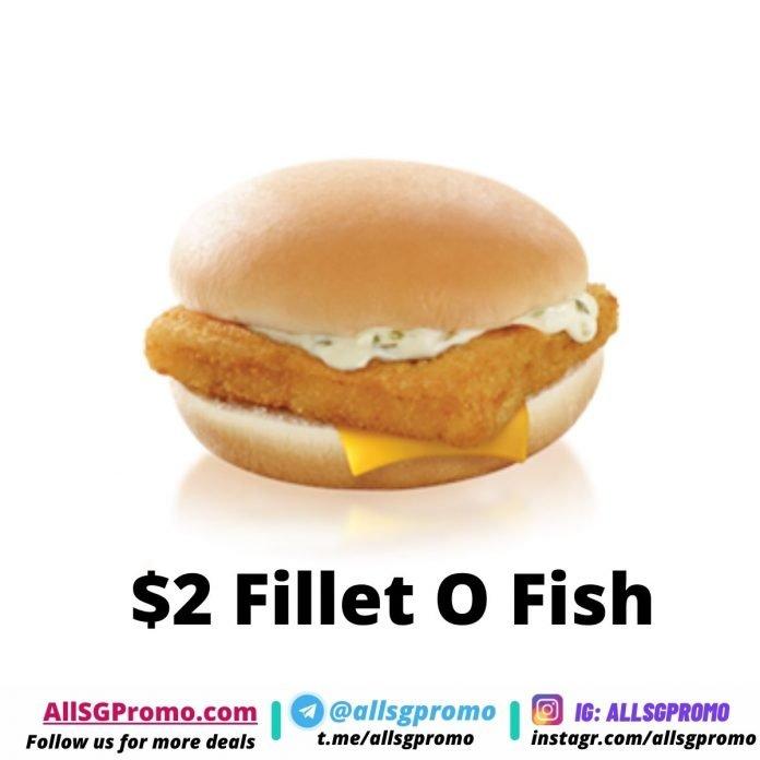 2 Fillet O Fish Promo