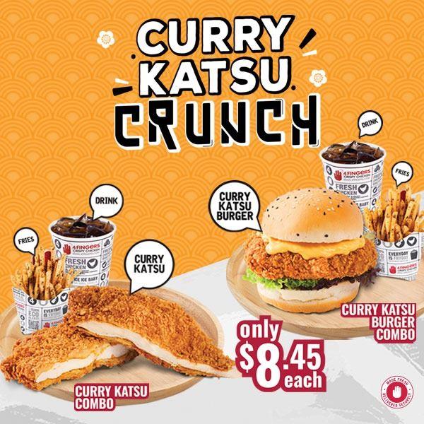 4 fingers curry katsu