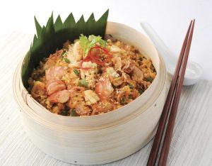 Vietnamese Fried Rice w Seafood x