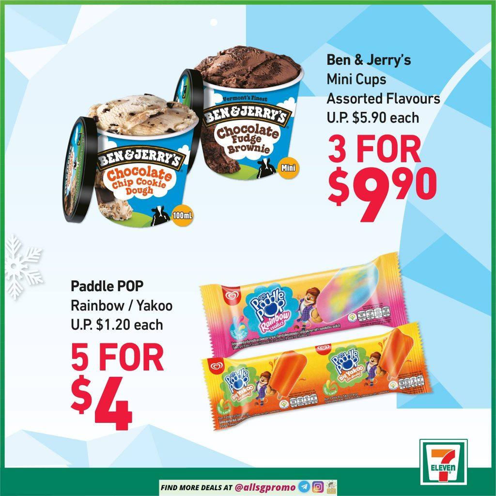 7 eleven ice cream promotoin