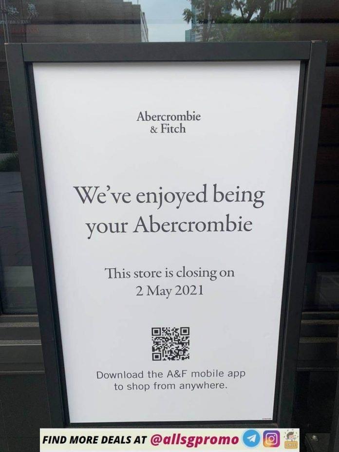 Abercrombie Fitch Singapore Sale 2
