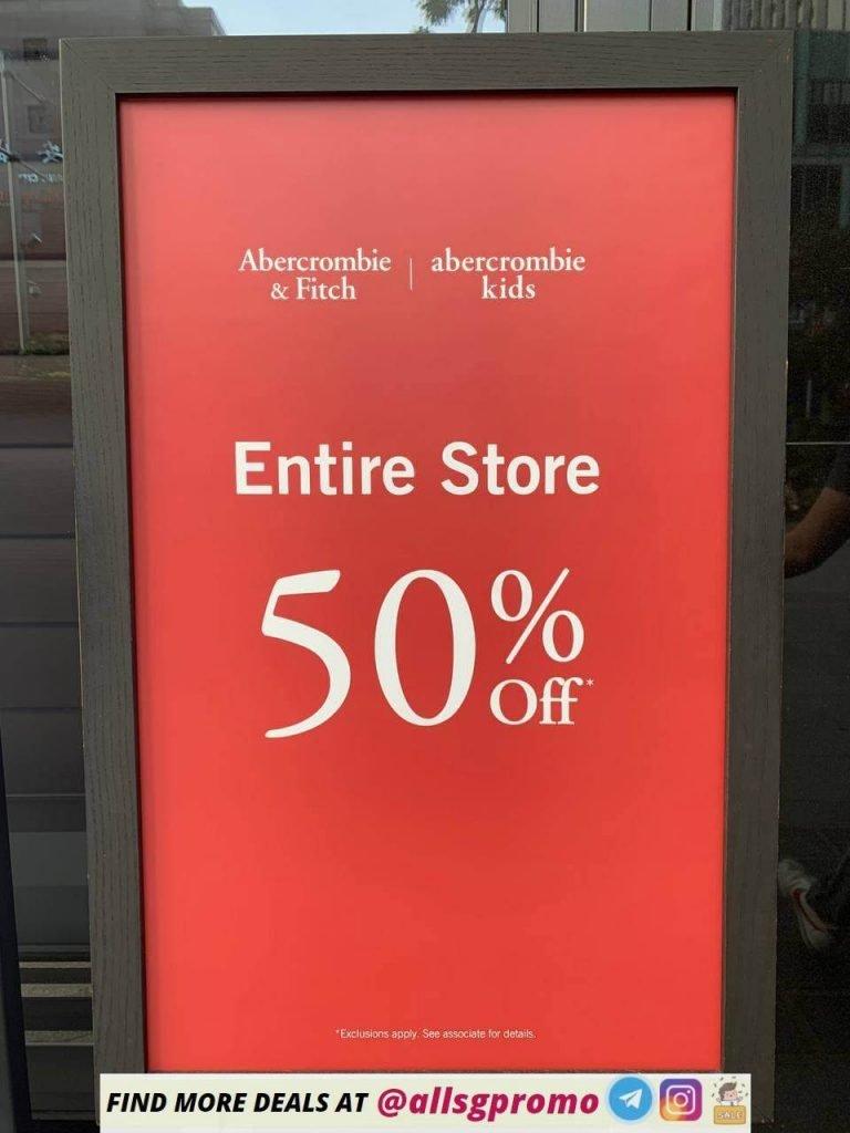 Abercrombie Fitch Singapore Sale