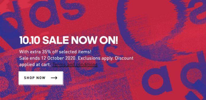 Adidas promotion 10 10 sales