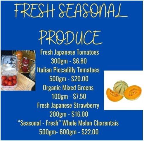 Atout fresh seasonal produce