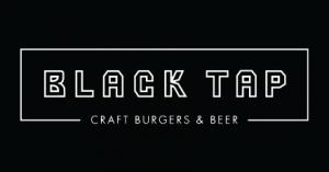 Black Tap Logo menu