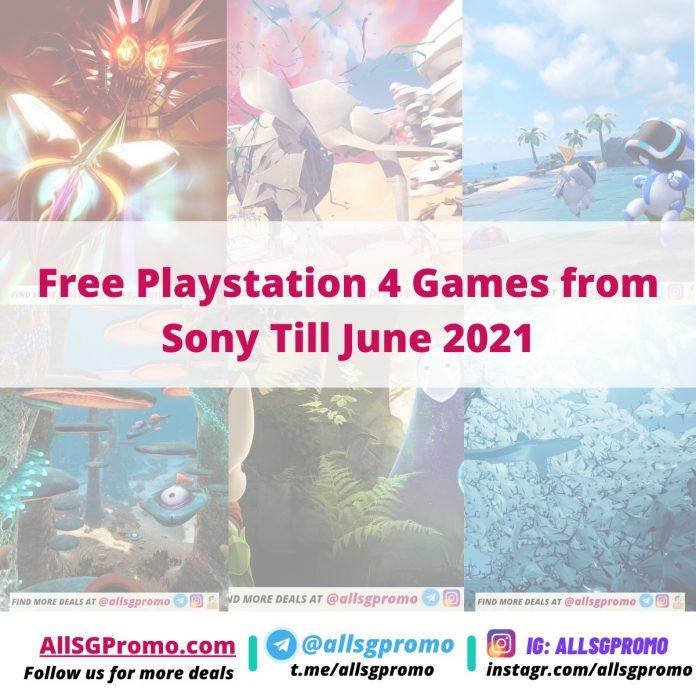 Free Playstation 4 Games Till June 2021
