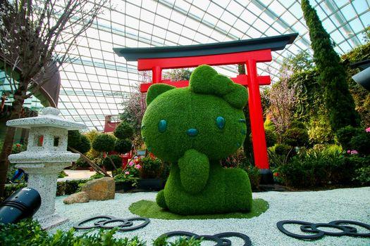 Gardens by the Bay Hello Kitty Sakura 1