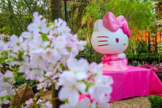 Gardens by the Bay Hello Kitty Sakura 2