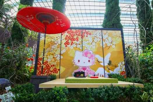 Gardens by the Bay Hello Kitty Sakura 3