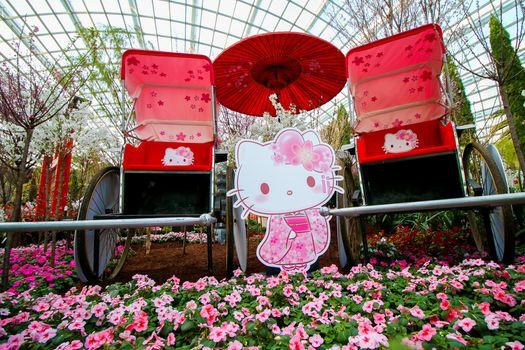 Gardens by the Bay Hello Kitty Sakura 5