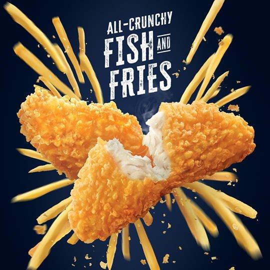 McDonald Sweet Chill Fish Burger Fish and Fries Return
