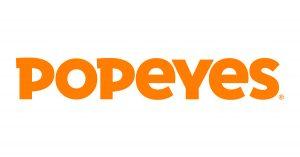 Popeyes Logo menu