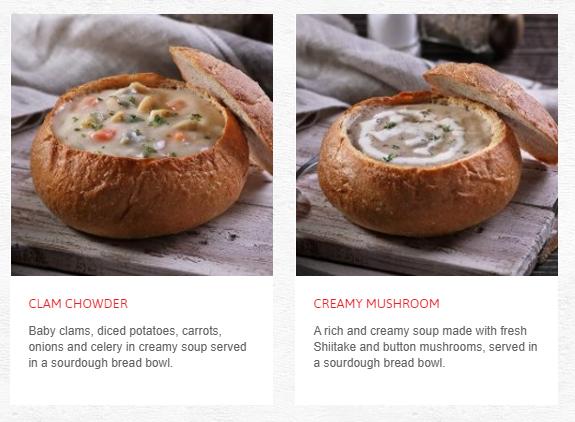 Swensens Menu Soup