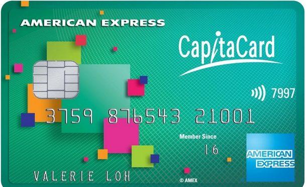 amex capitaland credit card promotion