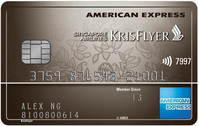 amex krisflyer ascend credit card promotion
