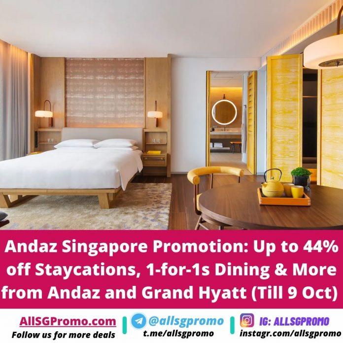 andaz singapore promotion