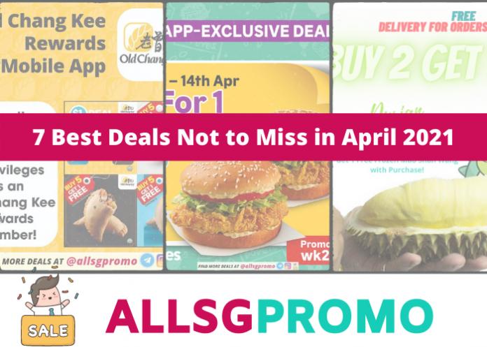 april singapore deals