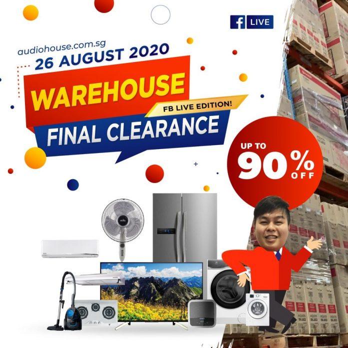 audiohouse warehouse sales 27 Aug