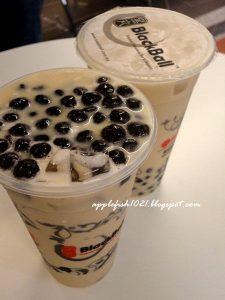 blackball menu boba milk tea