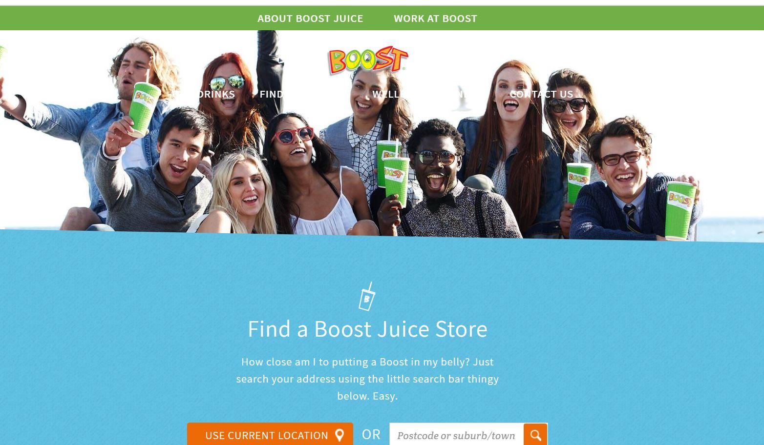 boost juice menu singapore website