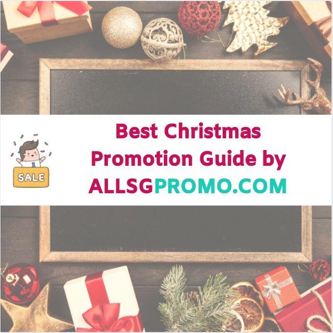 christmas promotion singapore 2020