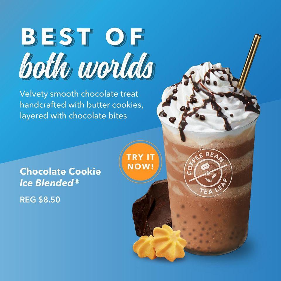coffee bean chocolate ice