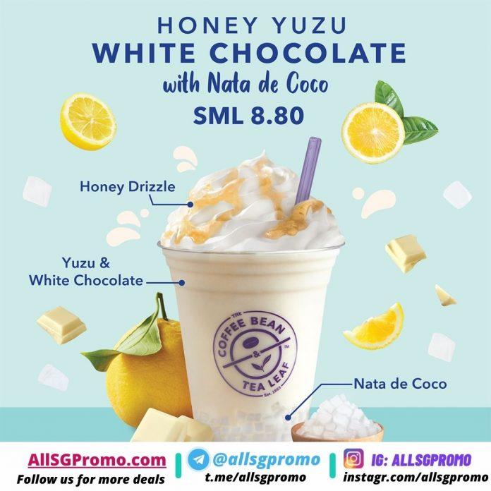 coffee bean honey yuzu white chocolate