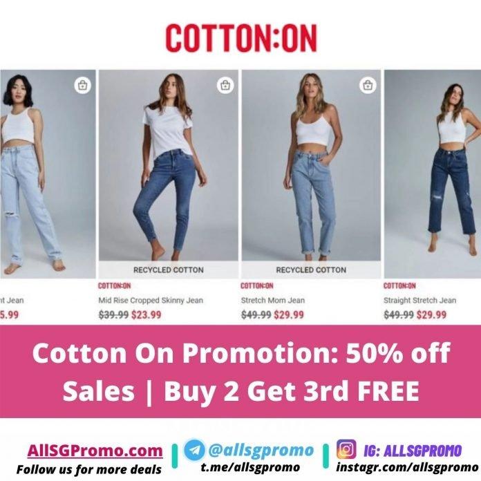 cotton on promotion