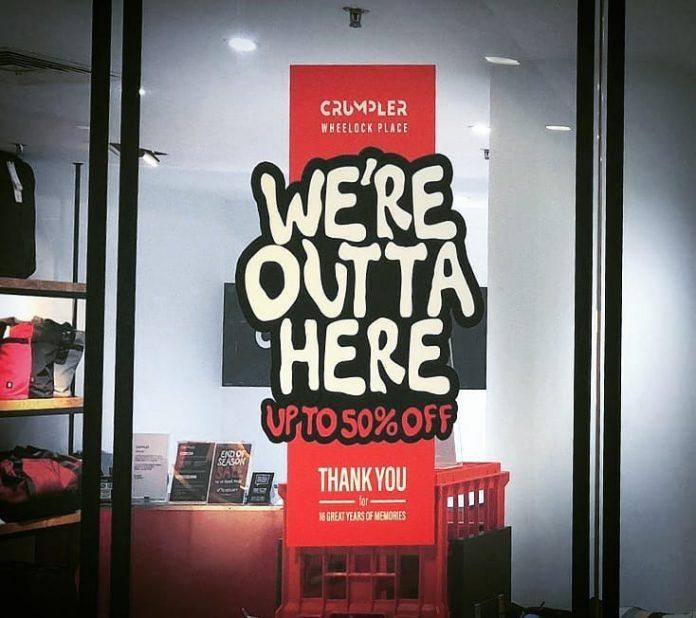 crumpler shut down