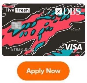 dbs live fresh credit card promotion