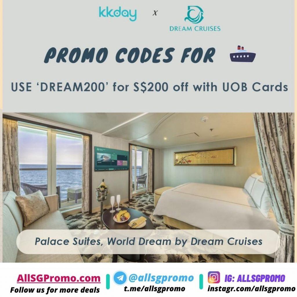 dream cruise promotion