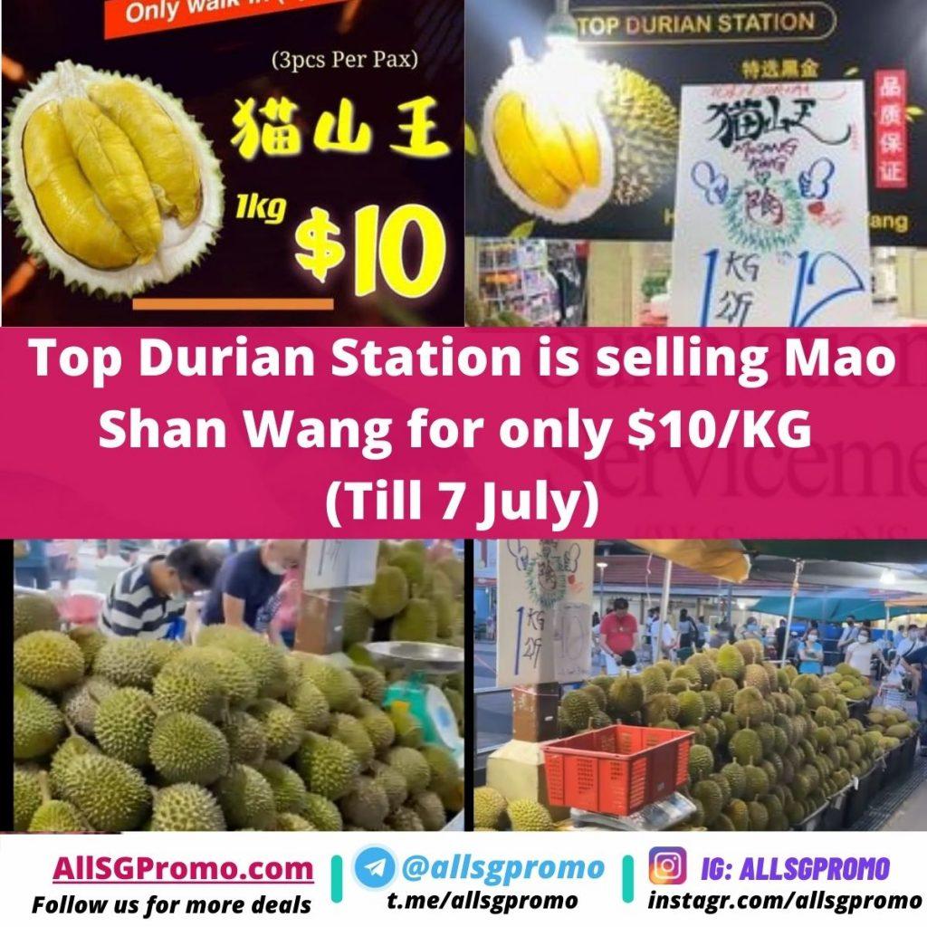 durian promo sale