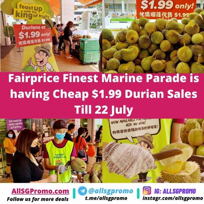 durian promo sales