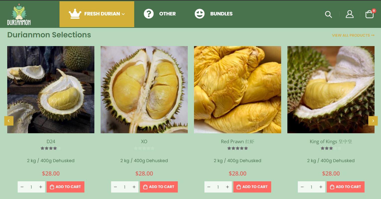 durianmon durian selection