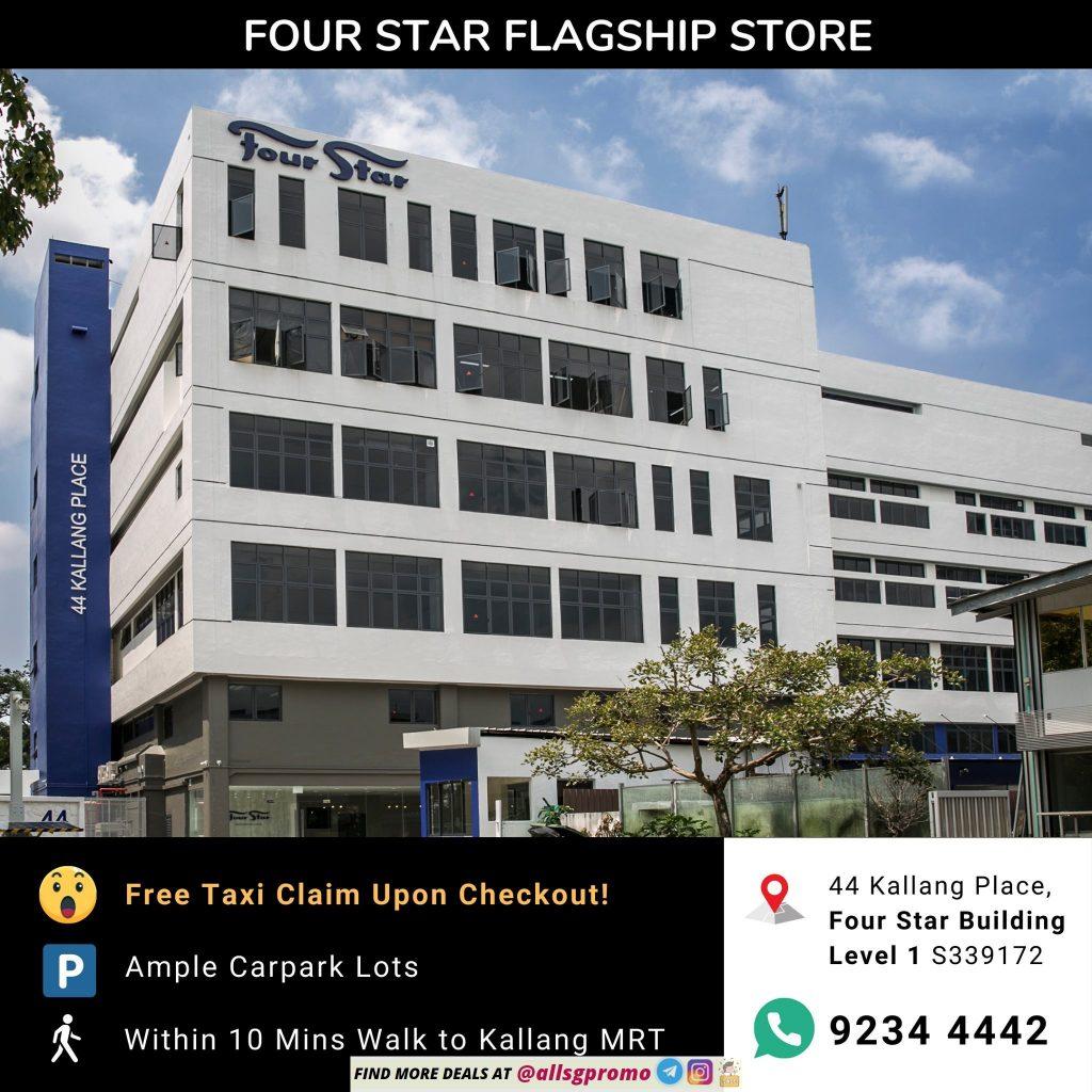 four star mattress warehouse sale location 1