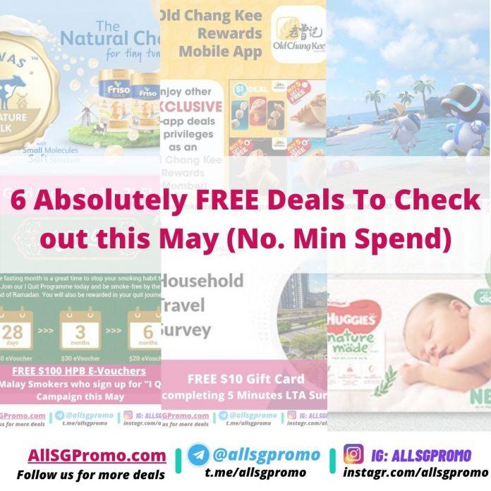 free deals may