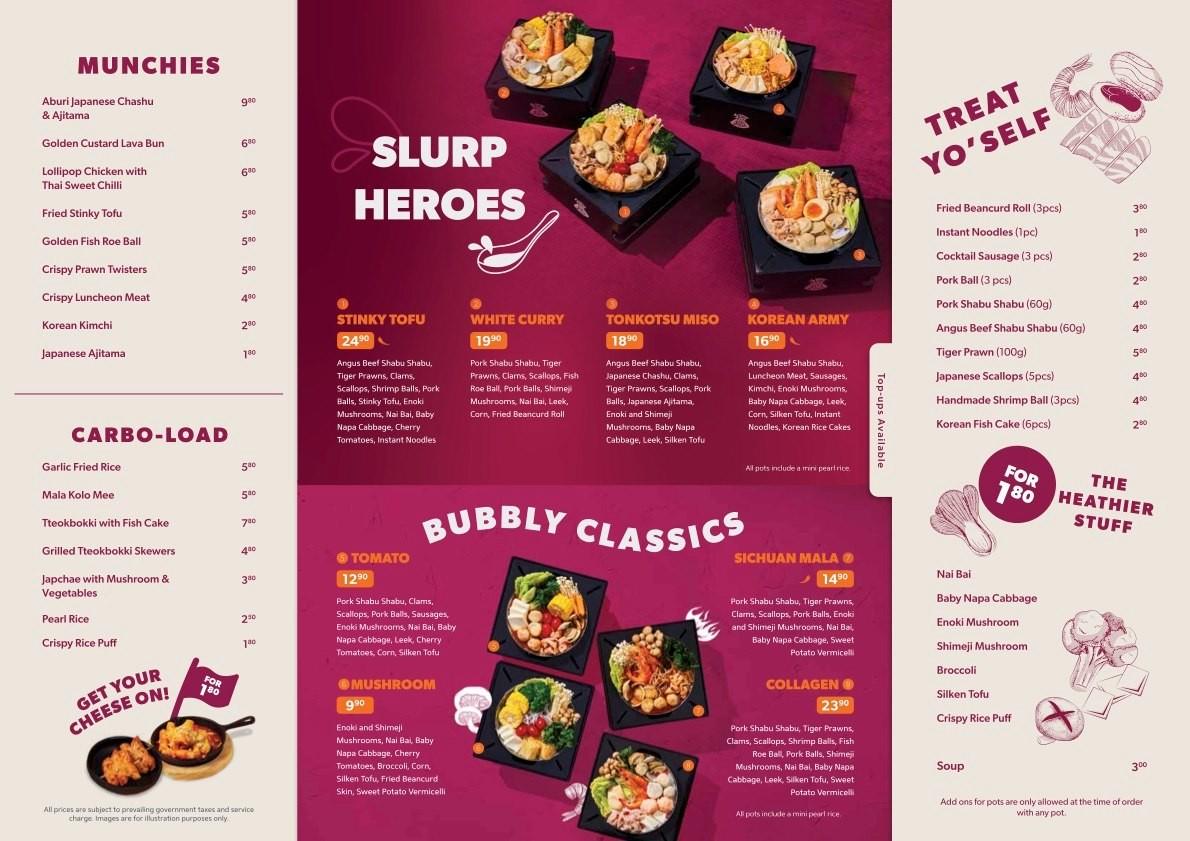 fufu pot menu