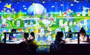 future world art science museum promotion