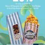 garrett popcorn promotion sakura tin