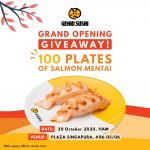 genki sushi promotion plaza sing
