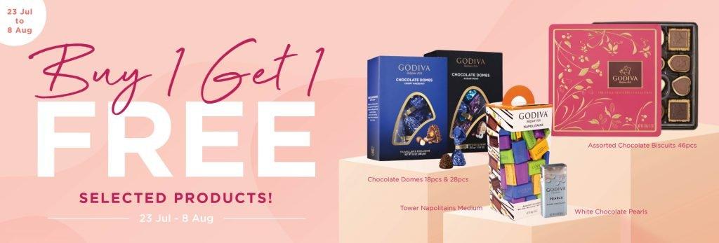 godiva for sales