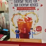 gong cha nurse day promotion