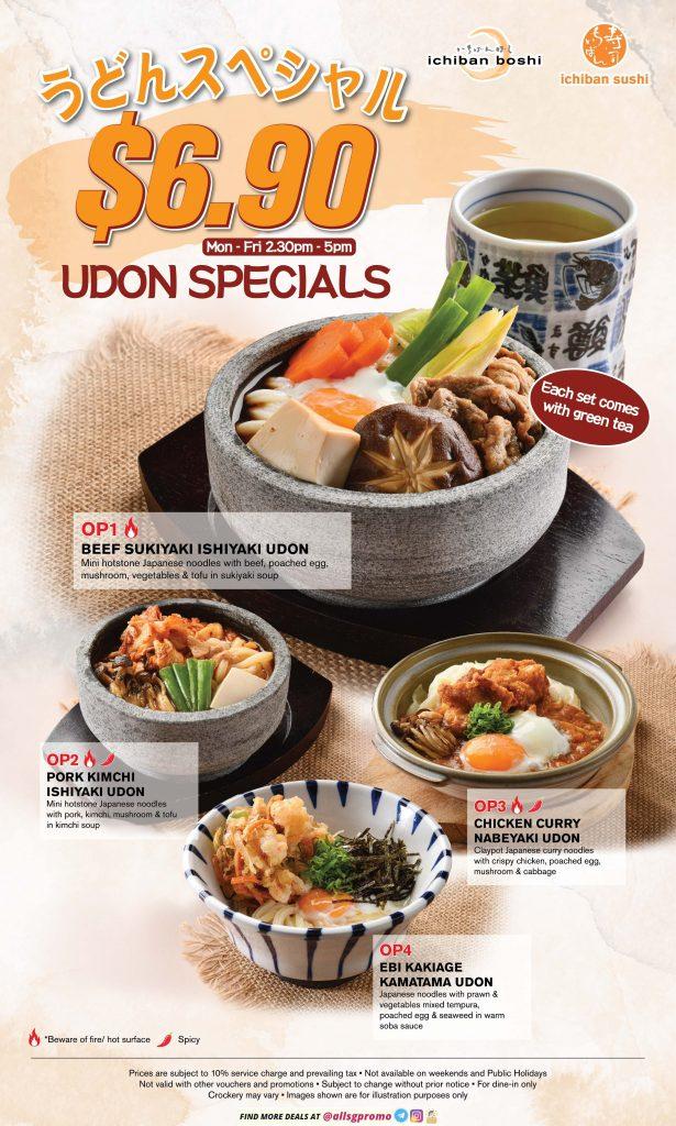 ichiban boshi menu offpeak