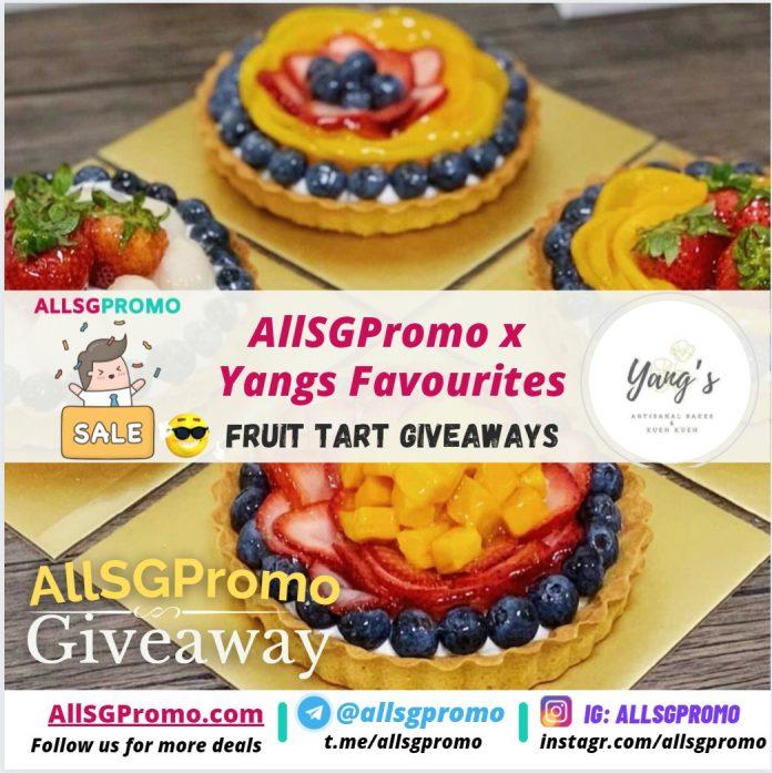 instagram giveaway fruit tarts