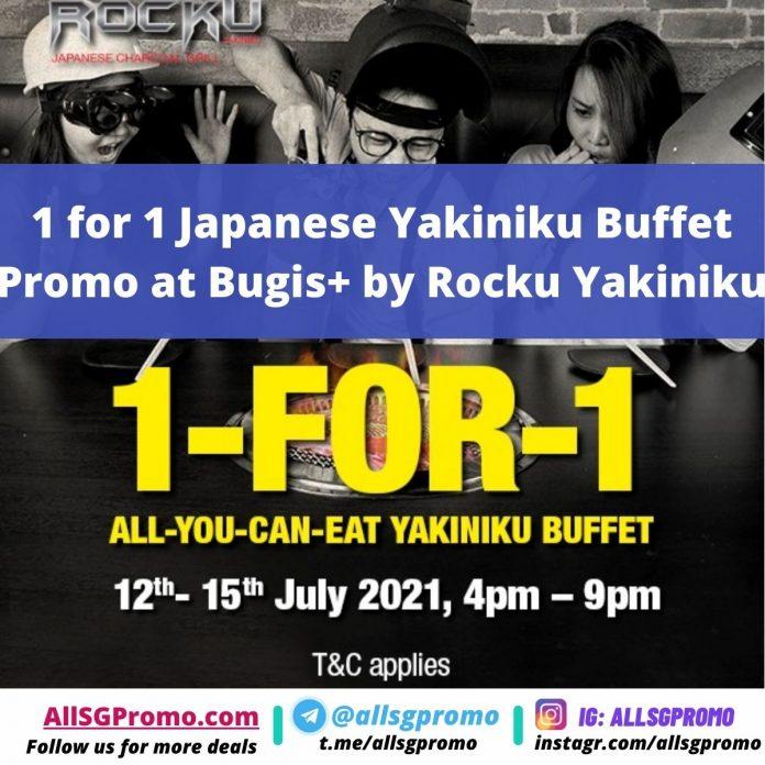 japanese yakiniku buffet promotion