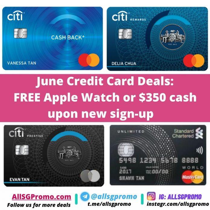june credit card promo