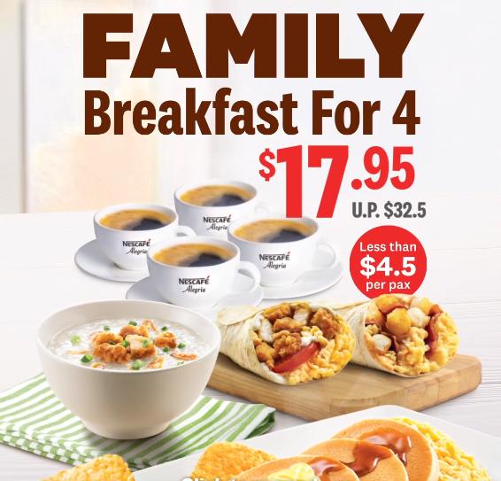kfc family feast for 4