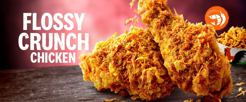 kfc flossy crunch chicken
