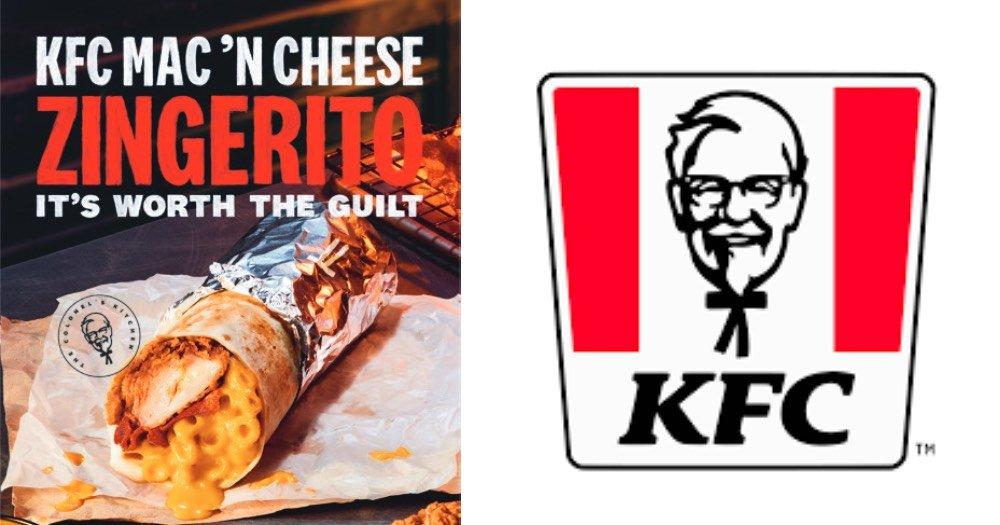 kfc mac n cheese zingerito